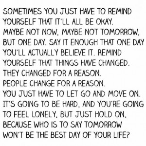 Things will be okay
