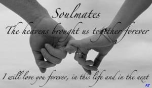 Soulmated The Heavens Brought Us Together Forever - Baby Quote