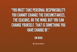 take responsibility quotes