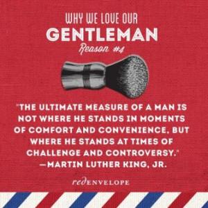 Magic Monday: Inspiring Gentlemen Quotes