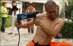 Hu Qiong stunned an audience by holding a running drill to his own ...