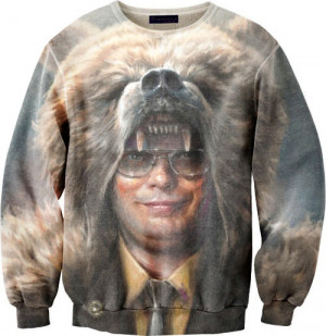 funny-picture-Dwight-Schrute-shirt-bear