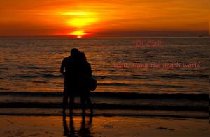 romantic beach walk romantic night walk along the