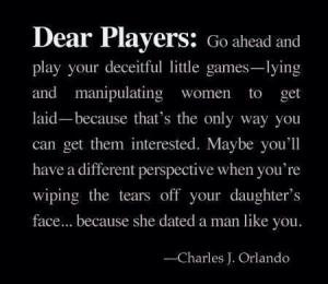 Dear players.....