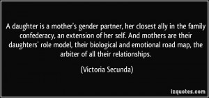 daughter is a mother's gender partner, her closest ally in the ...