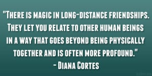 long distance friendship quotes distance relationships quotes about ...