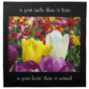 Tulips With Quotes And Sayings Gifts