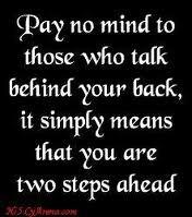 Keep talking:-)