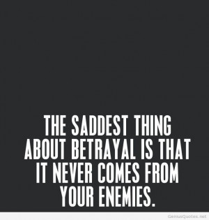 Betrayal biggest problem tumblr