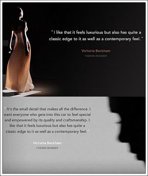 Victoria's Quotes on Designing Range Rover Evoque