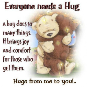 hug quotes cute quote hug friendship quotes support bearsHappy Hug ...