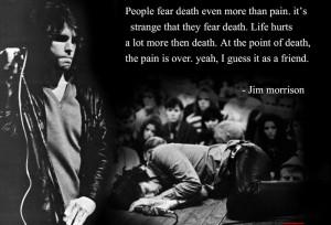 Jim Morrison Quotes On Pain