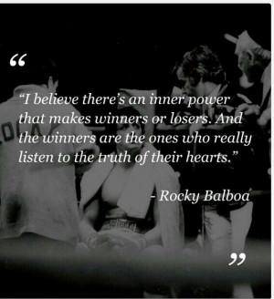 Ricerche correlate a Rocky balboa quotes rocky 5