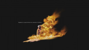 Fire Quotes Wallpaper 1366x768 Fire, Quotes