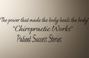 ... > Business & Professions > Business > Chiropractic Wall Decal
