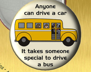 ... to recognize and honor your Bus Driver with a special thank you