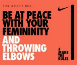 Well my basketball team know all about why I throw elbows and my coach ...