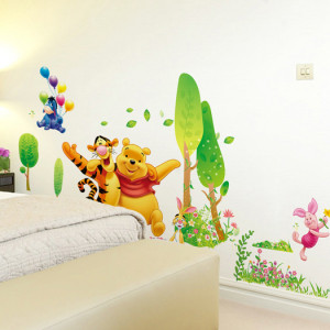 Winnie the Pooh and Tigger wall art quotes and saying home decor decal ...