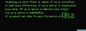 Hacking Facebook Quotes Nerd hacking facebook cover