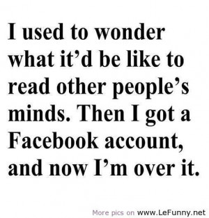 Reading people's minds