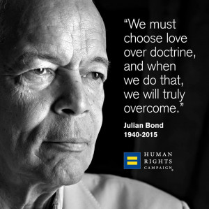The Wild Reed: Remembering Julian Bond, 1940-2015:
