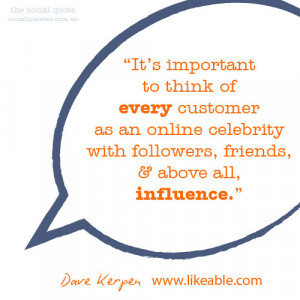 ... point about Customer Influence in The Social Quote (Socially Sorted