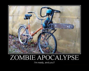 ... like a contraindication in terms. But sometimes Zombies are funny