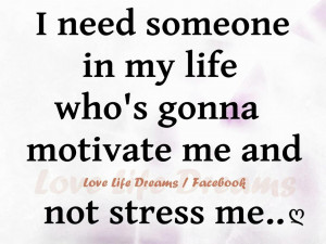 need someone in my life...