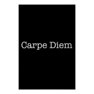 Carpe Diem Seize the Day Quote - Quotes Print
