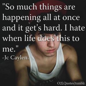 jc caylen   Quotes/
