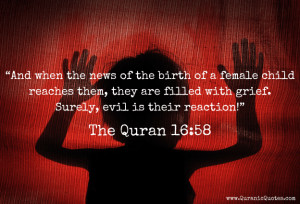 77 The Quran 16:58 (Surah an-Nahl) | Quranic Quotes