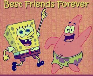 Spongebob And Patrick Best Friends Forever Picture