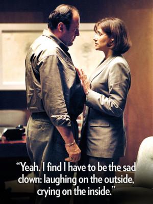 Tony Soprano , to his therapist , Dr. Jennifer Melfi