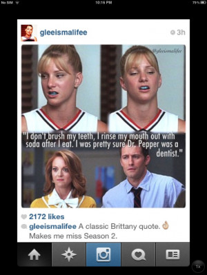 glee brittany quote will Emma so funny