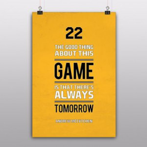 Tomorrow Quote by Andrew McCutchen More