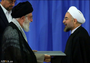 Hassan Rouhani, the new president of Iran