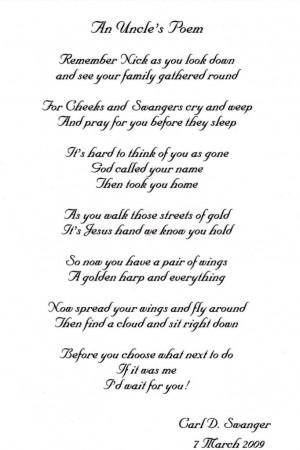 An Uncle's Poem photo AnUnclesPoem.jpg
