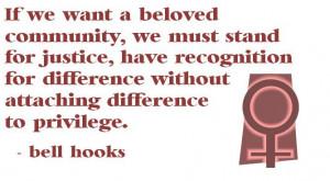bell hooks on difference #feminism #radicalfeminism