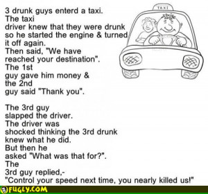 Taxi Driver Joke