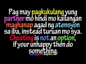 Tagalog quote para sa mga manloloko Love Quotes - ^^Kyle's Lair ...