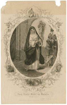 Robert Thew. Fanny Kemble as Isabella in Measure for Measure. Print ...