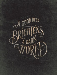 brighten the world around you!