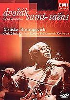 Mstislav Rostropovich - Dvorak/Saint-Saens: Cello Concertos