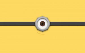 File Name : Minion eye Wallpaper HD