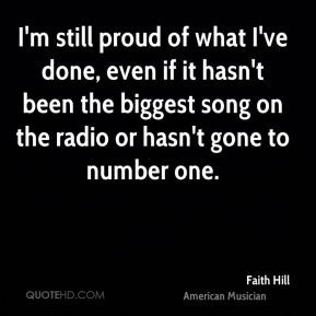 More Faith Hill Quotes