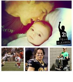 Steve Gleason, the former Saints player who, when diagnosed with ALS ...