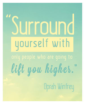 Who you surround yourself with is much more important than how many ...