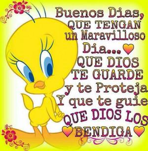 Buenos Dias, Que tengan un dia maravilloso...Que Dios te guarde y te ...