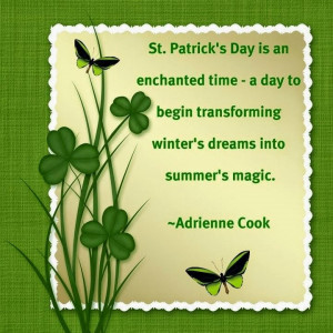 St Patrick's Day Inspirational Quotes Wallpapers 2015