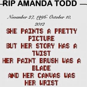 Amanda Todd's memory Help Website.